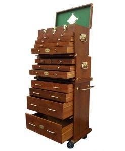 Wooden tool cabinets