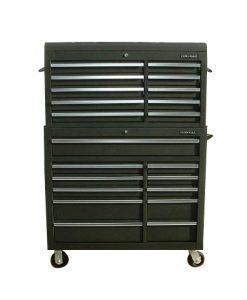 Heavy duty tool chest combinations