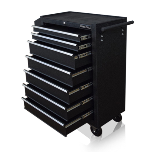7 DRAWER ROLLER CABINET TOOL BOX - US. PRO TOOLS