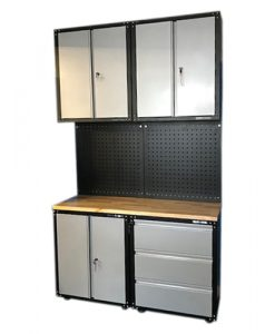 US PRO Garage heavy duty storage cupboards