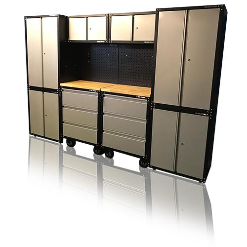 Garage Storage System >> Us Pro Professional Tool Chest Box Workbench 12 Piece Garage Storage System