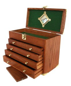 155-US-Pro-Tools-Wooden-Tool-Box-Tool-Chest-Wood-Cabinet-Engineer-Machinist-361211356151