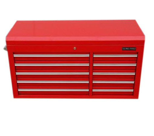 US PRO Tools Red Tool Chest Cabinet Box Snap Up cabinet toolbox ...