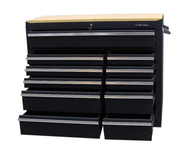 professional roller cabinet tool box 42 us pro tools. Black Bedroom Furniture Sets. Home Design Ideas
