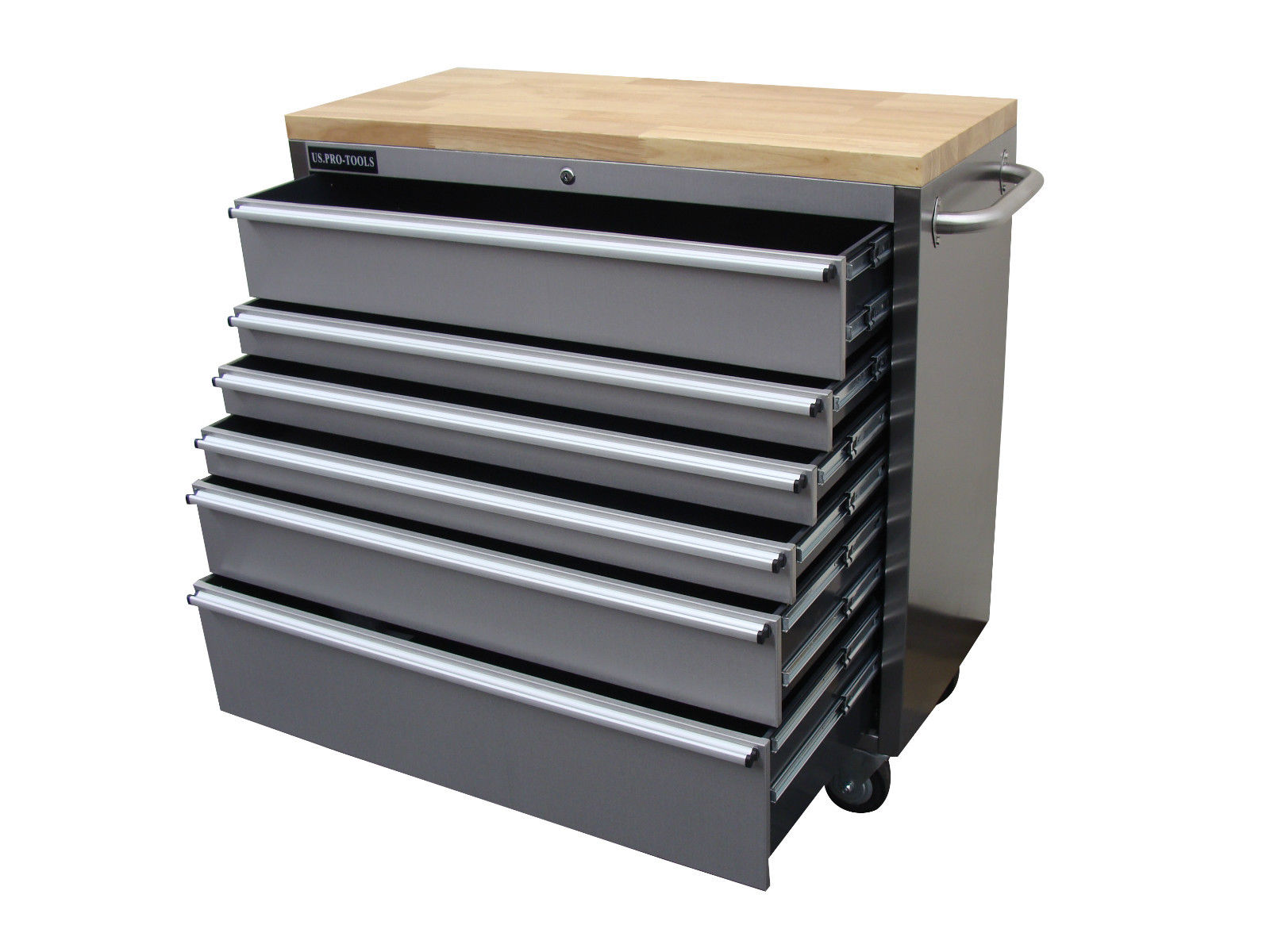 Steel Tool Chest Us Pro Tools Heavy Duty Tool Box 42 Quot