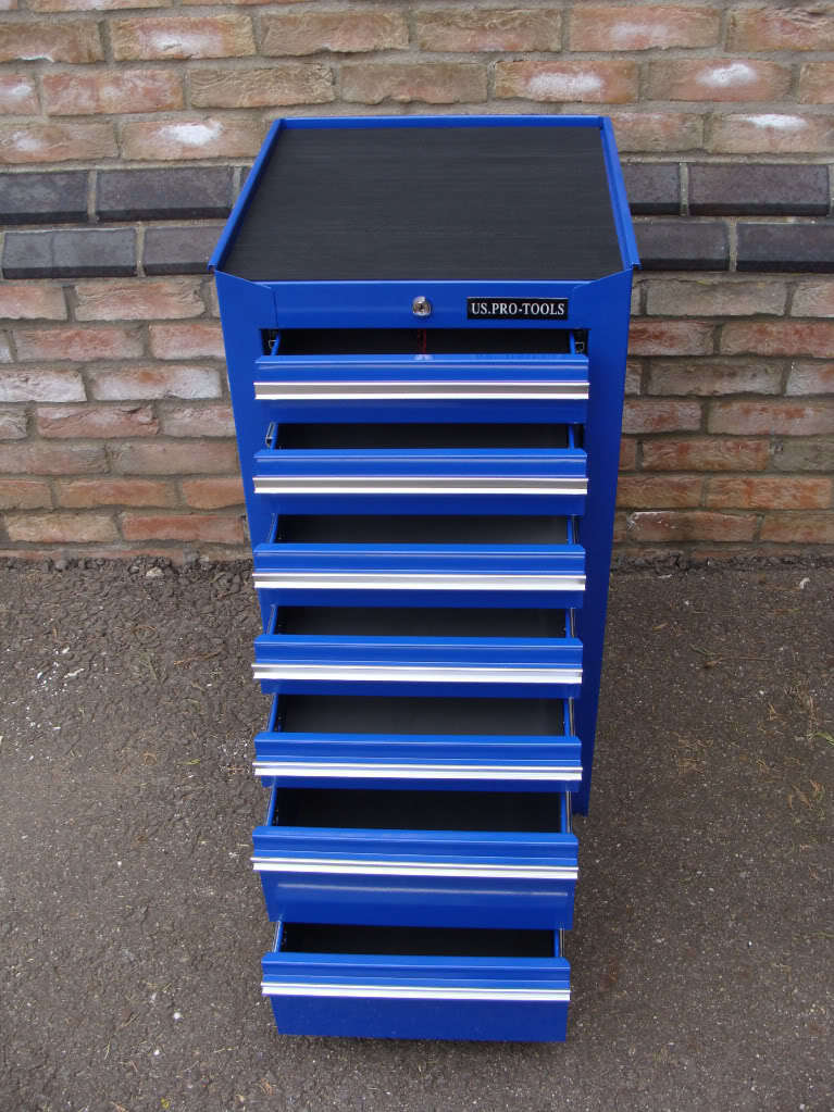 SIDE TOOL CABINET TOOL CHEST BOX ADD STACK ON - US PRO